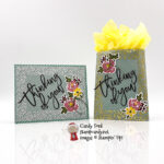 February 2021 Paper Pumpkin Kit Bouquet of Hope, alternate projects for #APPT, card & gift bag #stampcandy