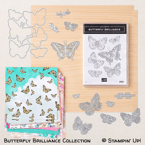 Butterfly Brilliance Collection #stampinup #stampcandy
