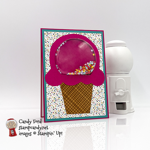 Ice Cream Shaker with Sprinkles