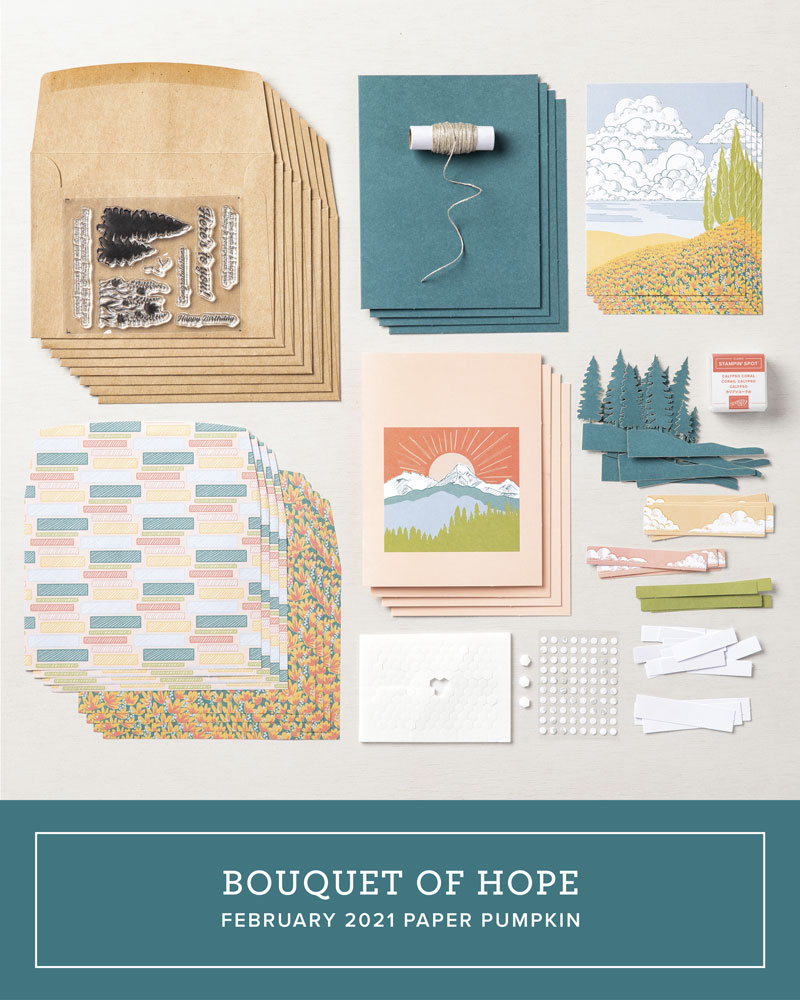 Here's to You Paper Pumpkin kit 03-2021 March 2021 #PPPBH #stampcandy