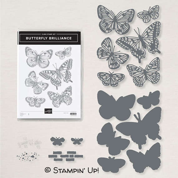 Butterfly Brilliance Bundle @stampcandy
