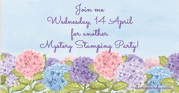 2021-04-14 Mystery Stampin Party #stampcandy