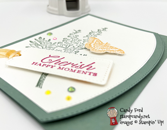Etched in Nature sneak peek card #stampcandy