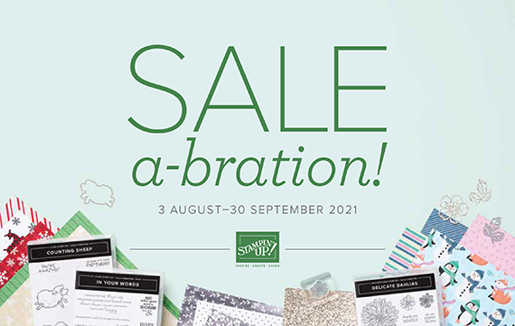 Aug-Sep 2021 Sale-a-bration #stampcandy