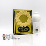 Gold Holly Leaves, Christmas to Remember stamp set, Seasonal Labels Dies #stampcandy