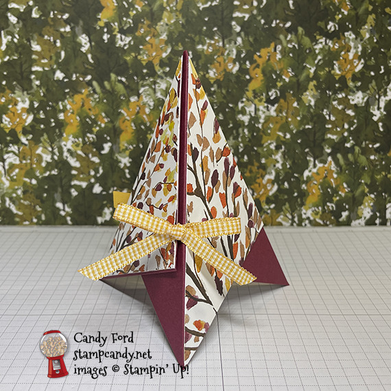 Beauty of the Earth teepee card #stampcandy
