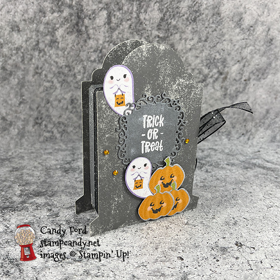 Cutest Halloween Bundle, Tombstone Treat Boxes #stampcandy #icsbh