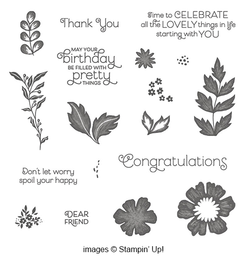 Everything is Rosy product Medley from Stampin' Up! Available for a limited time, and only while supplies last!