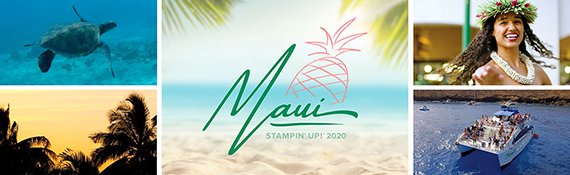 Stampin' Up! incentive trip to Maui 2020