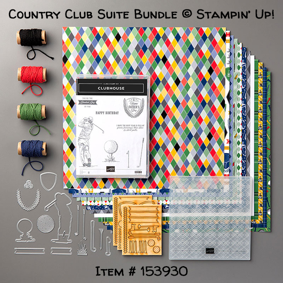 Country Club Suite Bundle from Stampin' Up!