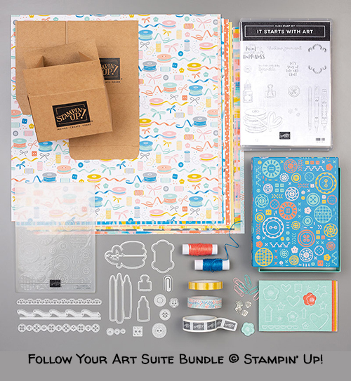 Follow Your Art Suite Bundle © Stampin' Up!