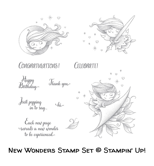 New Wonders host stamp set © Stampin' Up!